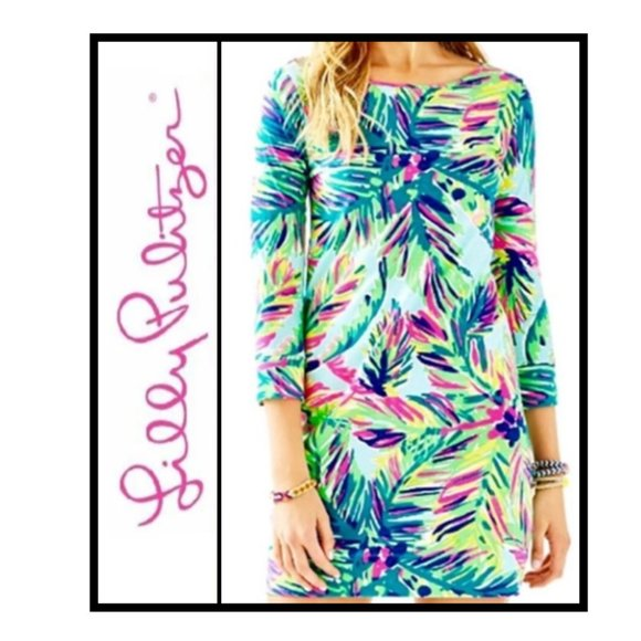 Lilly Pulitzer Dresses & Skirts - Lilly Pulitzer XL Marlowe ISLAND TIME dress NWOT